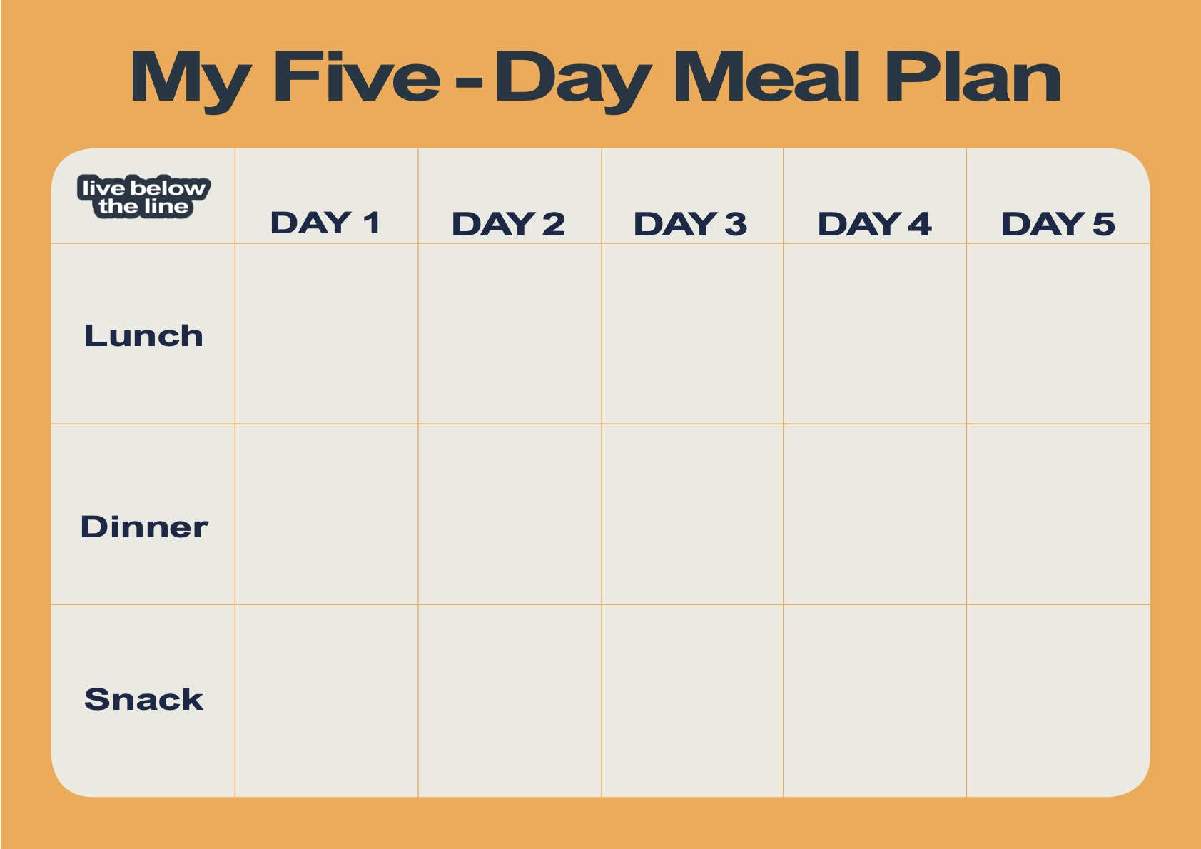 Download LBL DIY Meal Plan Template 2021